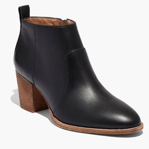 Madewell The Brenner Boot in Leather